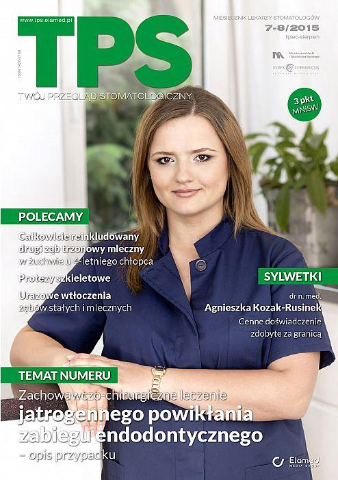 TPS - Twój Przegląd Stomatologiczny wydanie nr 7-8/2015