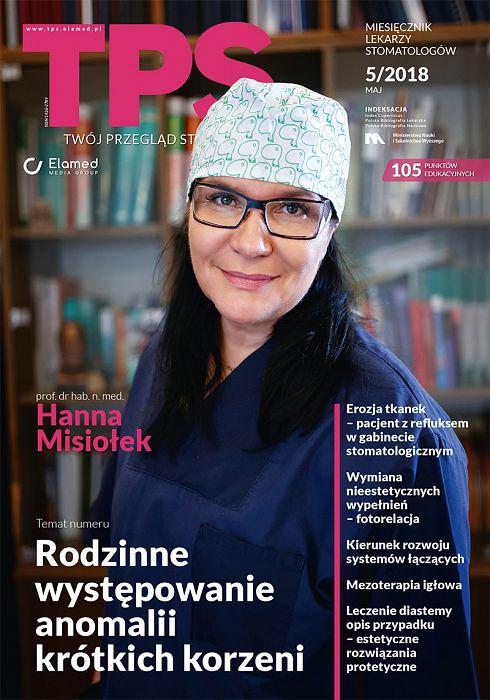 TPS - Twój Przegląd Stomatologiczny wydanie nr 5/2018