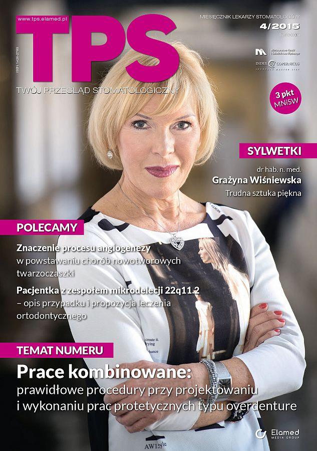 TPS - Twój Przegląd Stomatologiczny wydanie nr 4/2015