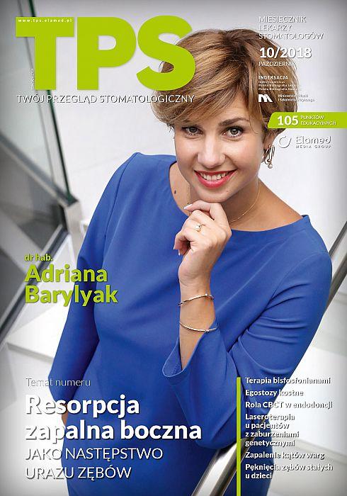 TPS - Twój Przegląd Stomatologiczny wydanie nr 10/2018