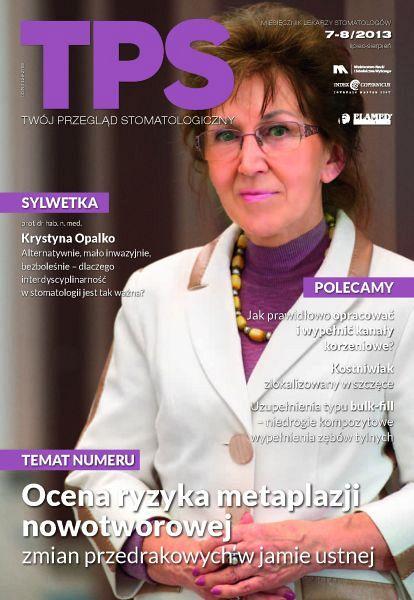 TPS - Twój Przegląd Stomatologiczny wydanie nr 7-8/2013